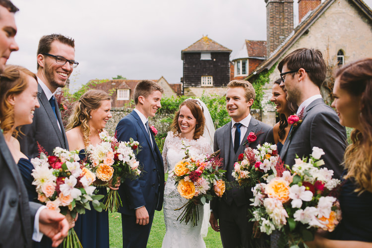 Fairy Lights Vibrant Florals Summer Barn Wedding https://www.oliviajudah.co.uk/