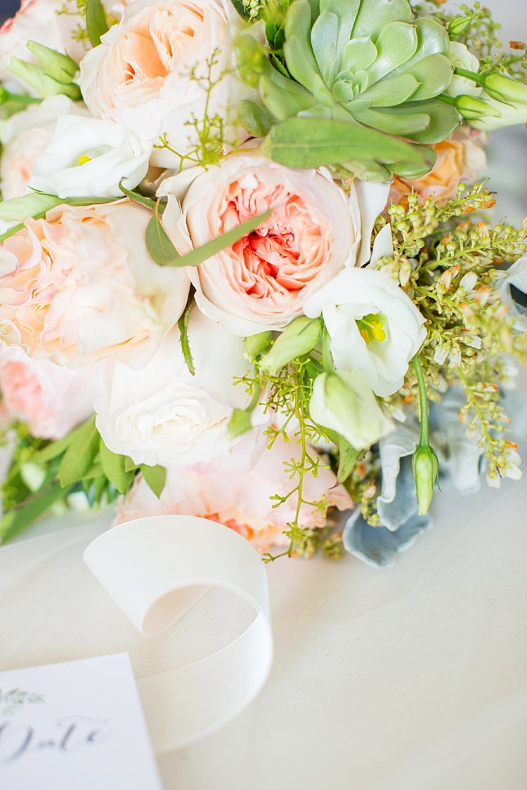Bouquets Peony Greenery Pink Blush Intimate Farmhouse Wedding South Carolina https://jessicahuntphotography.com/
