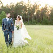 Intimate Farmhouse Wedding in South Carolina