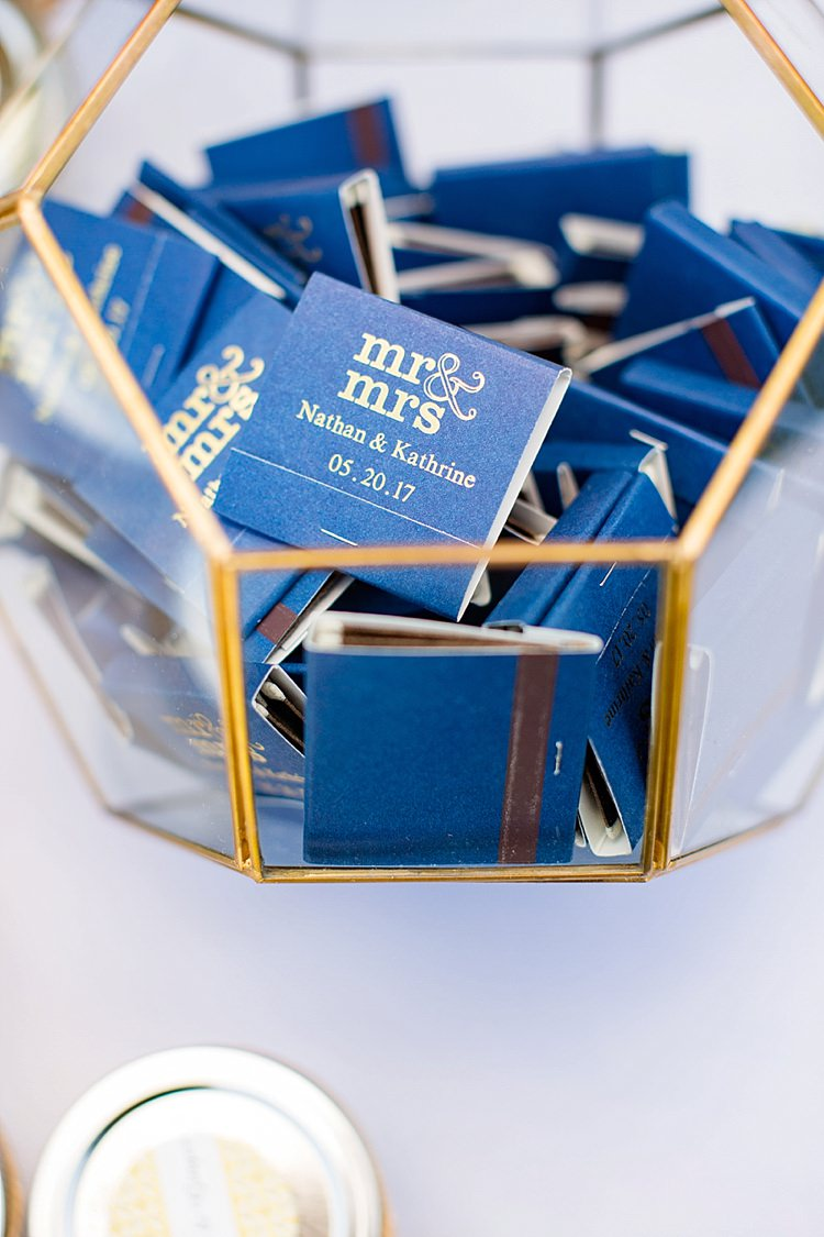 Favours Matches Mr & Mrs Intimate Farmhouse Wedding South Carolina https://jessicahuntphotography.com/