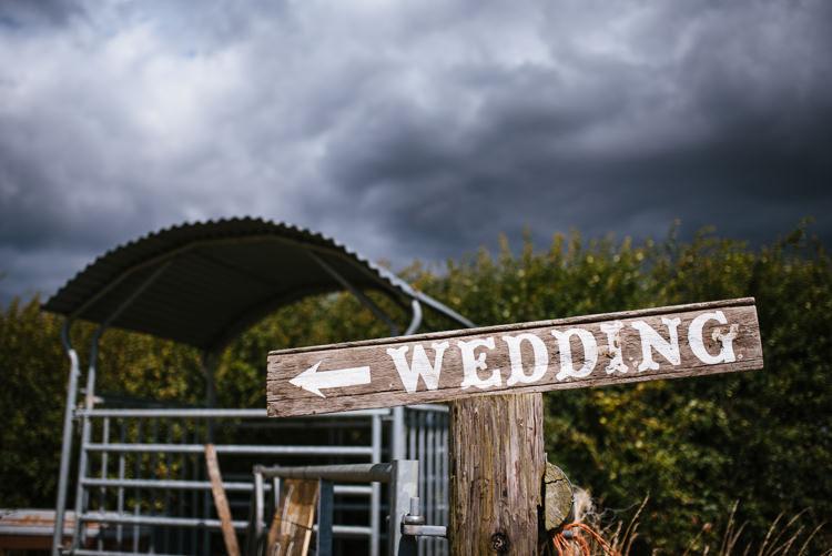 Wooden Sign Post Magical Woodland Glade Tipi Wedding http://johnnydent.co.uk/