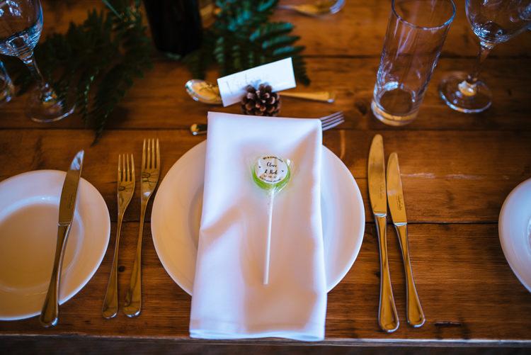 Lollypop Favour Magical Woodland Glade Tipi Wedding http://johnnydent.co.uk/