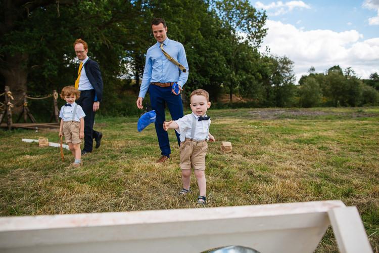 Fete Games Magical Woodland Glade Tipi Wedding http://johnnydent.co.uk/