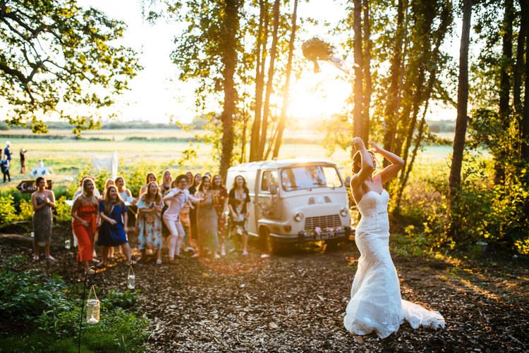 Bouquet Throw Bride Magical Woodland Glade Tipi Wedding http://johnnydent.co.uk/