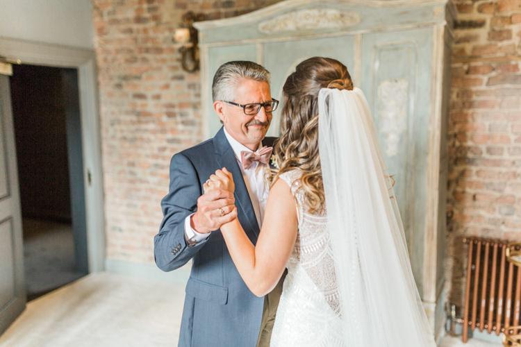 Simple Elegant Luxe Blush Pink Wedding http://katymelling.com/