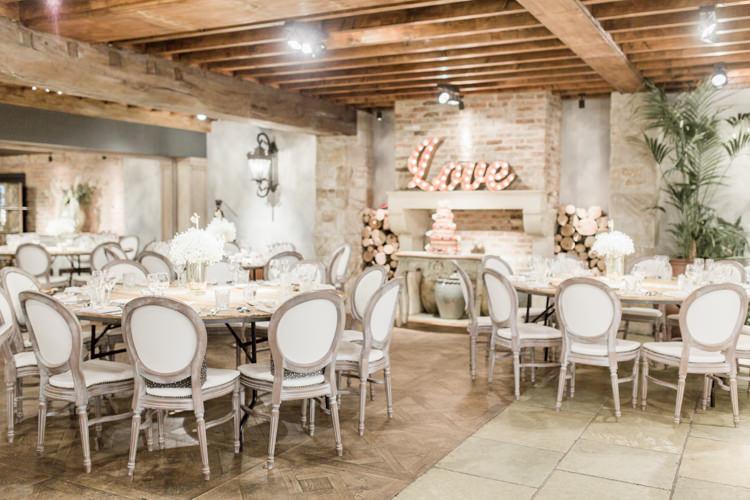 Le Petit Chateau Venue Reception Simple Elegant Luxe Blush Pink Wedding http://katymelling.com/