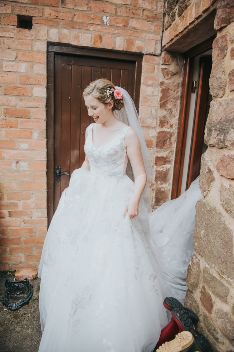 Lace Princess Dress Gown Bride Bridal Straps Incredibly Pretty Thoughtful Tipi Wedding http://katewatersphotography.com/