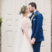 Fun Happy Colourful Wedding with Vegetable Bouquets