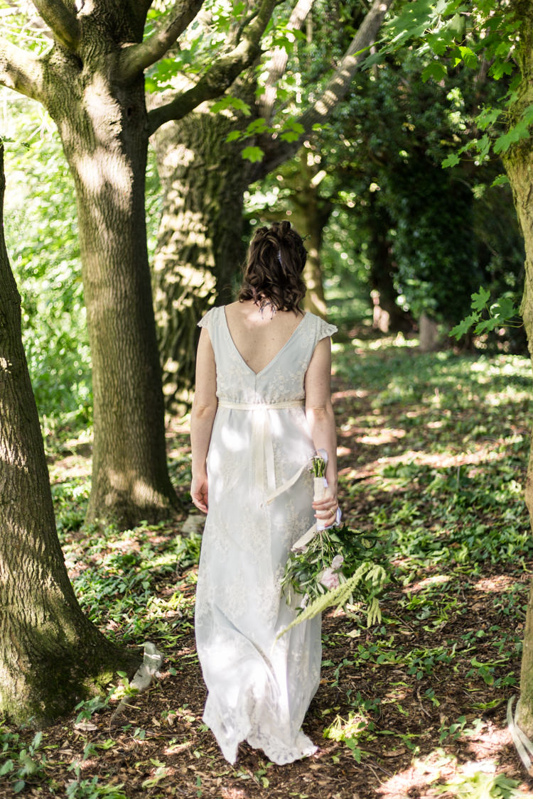 Bespoke Bride This Modern Love Bridal Greenery Foliage Hair Blue Natural Outdoor Tipi Wedding https://www.ad-photography.co.uk/