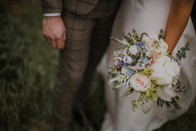 Bouquet Flowers Peony Rose Vintage Circus Funfair Wedding http://theliferomantic.co.uk/