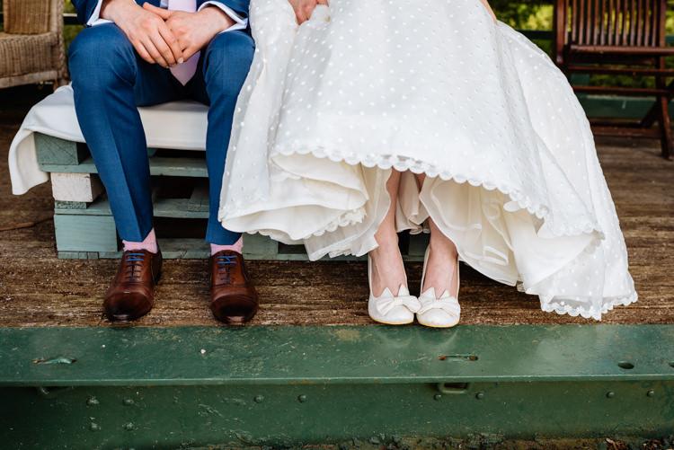 Irregular Choice Shoes Polka Dot Tulle Ian Stuart Bride Bridal Blue Laces Cute Summer Festival Tipi Wedding http://www.daffodilwaves.co.uk/