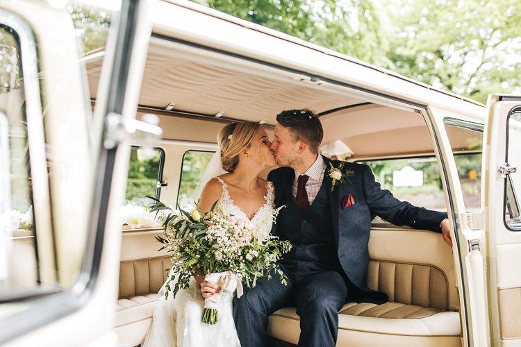 VW Camper Van Exquisite Relaxed Rustic Barn Wedding http://www.emiliemay.com/