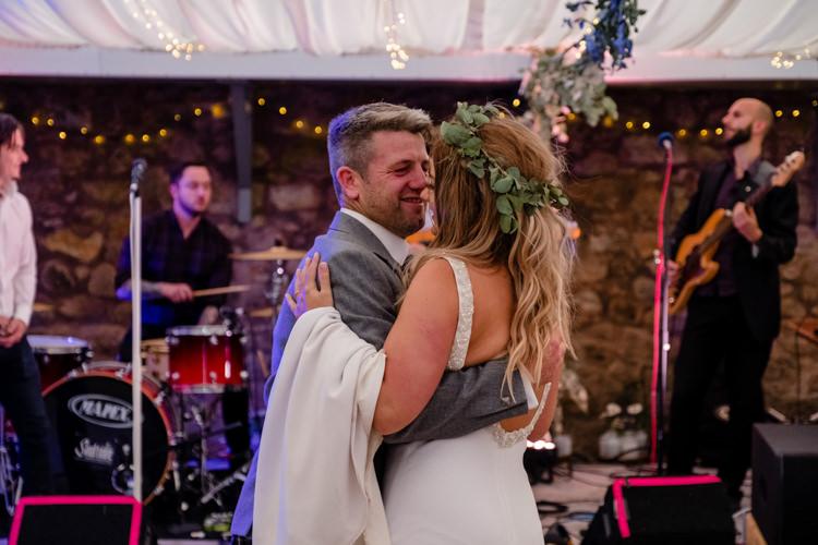 Boho Eucalyptus Green White Modern Wedding http://www.euanrobertsonweddings.com/