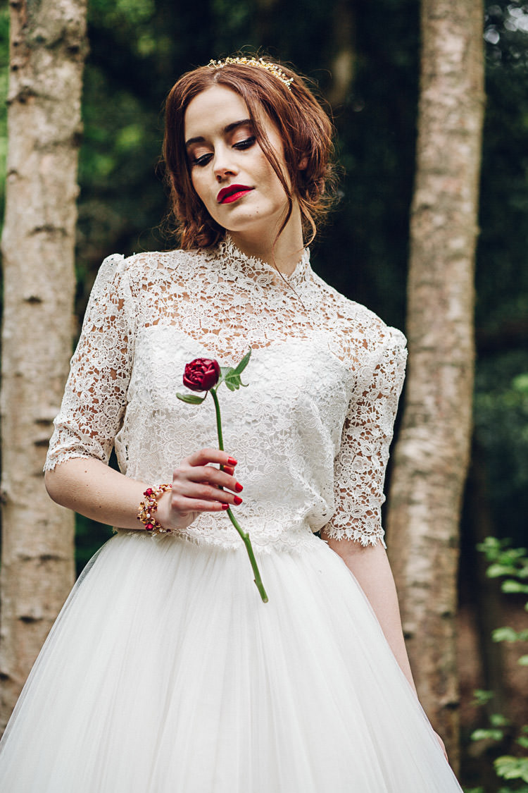 Magical Snow White Woodland Wedding Ideas https://www.chloeleephoto.co.uk/