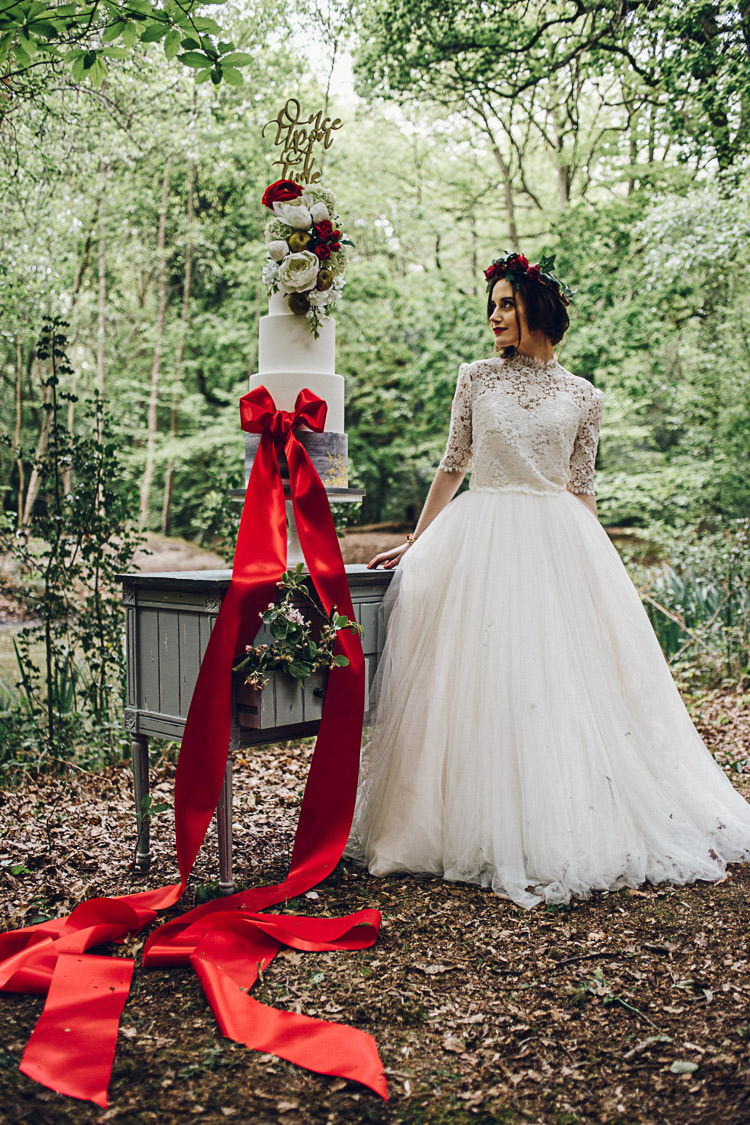 Magical Snow White Woodland Wedding Ideas