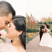 Modern Romantic Winter Wedding Texas http://www.albarosephotography.com/