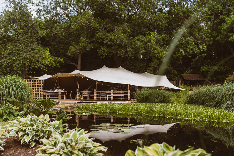The Copse Laid Back Summer Garden Party Wedding Stretch Tent http://joemallenphotography.co.uk/