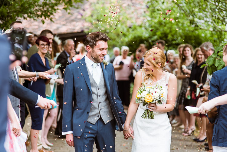Confetti Throw Laid Back Summer Garden Party Wedding Stretch Tent http://joemallenphotography.co.uk/