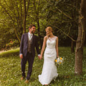 Laid Back Summer Garden Party Wedding in Stretch Tents