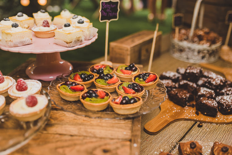 Cake Table Treats Dessert Laid Back Summer Garden Party Wedding Stretch Tent http://joemallenphotography.co.uk/