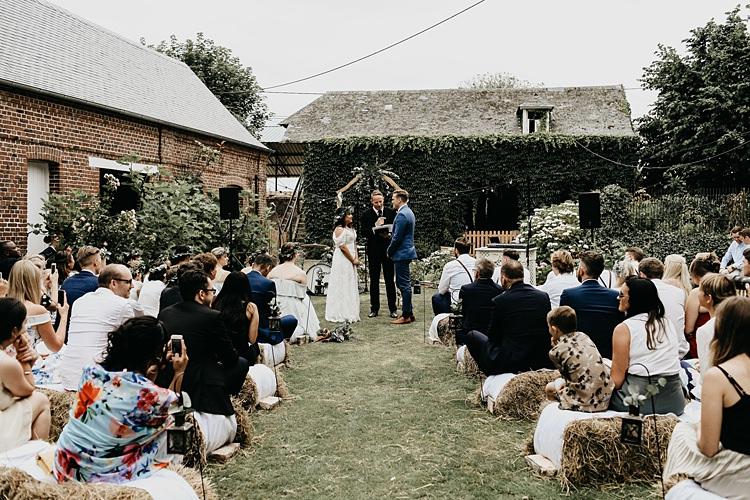 Rustic Greenery Copper Chateau Wedding in France http://hindmari.com/