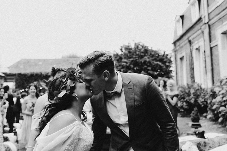 Rustic Greenery Copper Chateau Wedding in France http://hindmari.com/
