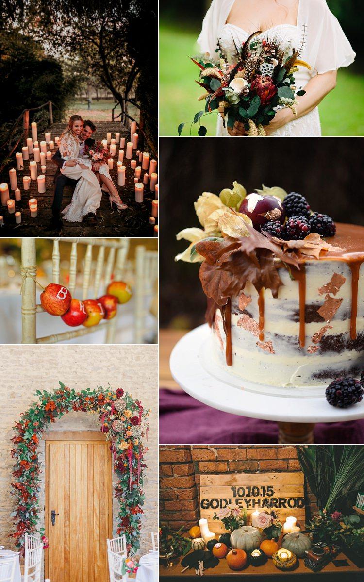 Autumn Wedding Ideas & Inspiration Whimsical Wonderland