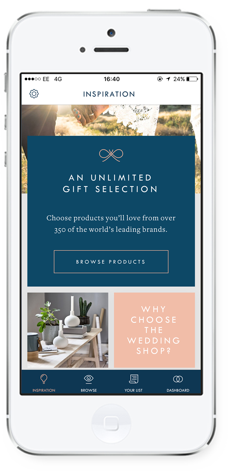 The Wedding Shop App