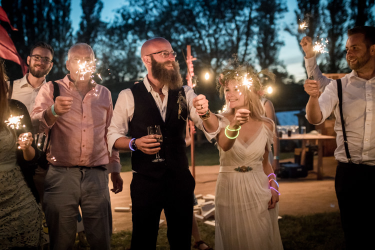 Sparklers Boho Festival Tipi Wedding http://alexaclarkekent.com/