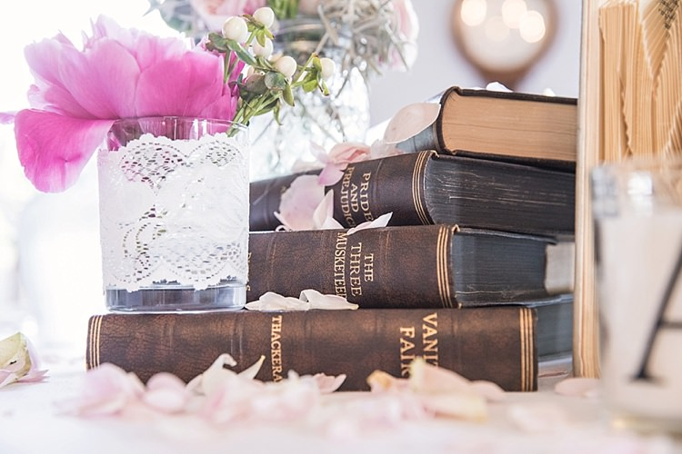 Vintage Books Lace Candle Classic Romantic Pretty Wedding https://kerryannduffy.com/