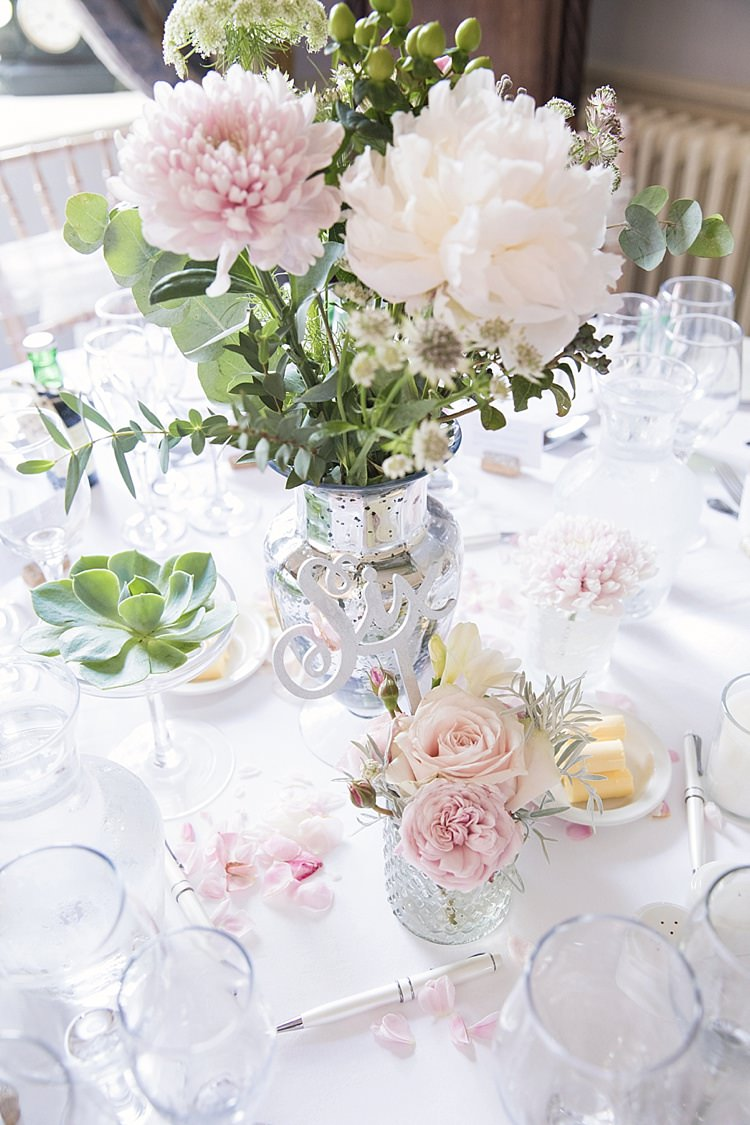 Laser Cut Table Number Blush Succulents Peonies Greenery Roses Setting Classic Romantic Pretty Wedding https://kerryannduffy.com/