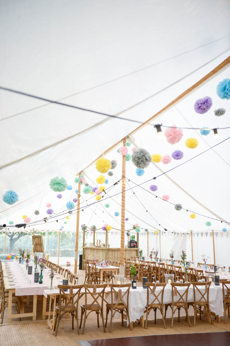 Fun Pastel Country Marquee Wedding http://kimberleywaterson.com/