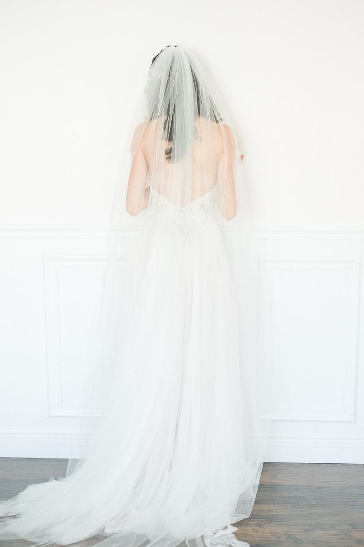 Bride Bridal Dress Gown Tulle Veil Light Soft Romantic Wedding Ideas http://www.vanessavelez.photo/
