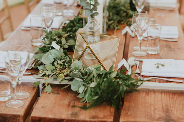 Terrarium Decor Candles Rustic Greenery White Apple Orchard Wedding http://bigbouquet.co.uk/