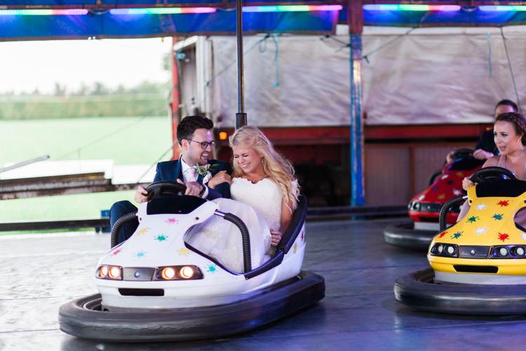 Bumper Cars Simple Natural Honest Marquee Wedding https://www.gemmagiorgio.com/