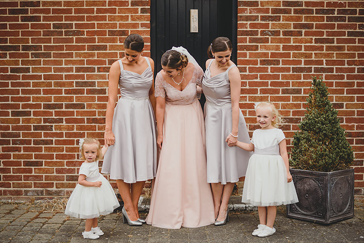 Flower Girls Vintage Retro Inspired Pastel Wedding https://www.georgiarachael.com/