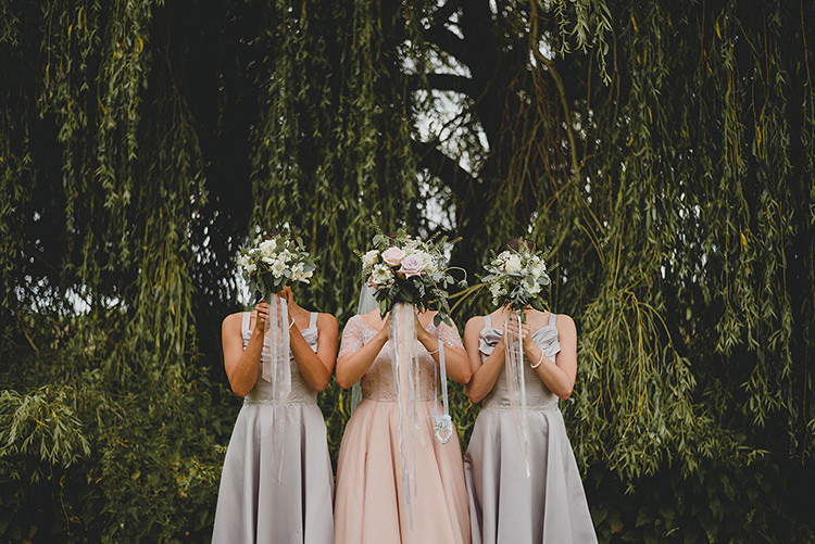 Grey Bridesmaid Dresses Vintage Retro Inspired Pastel Wedding https://www.georgiarachael.com/