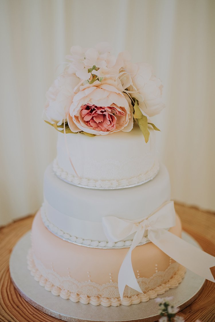 Classic Cake Iced Flowers Peony Vintage Retro Inspired Pastel Wedding https://www.georgiarachael.com/