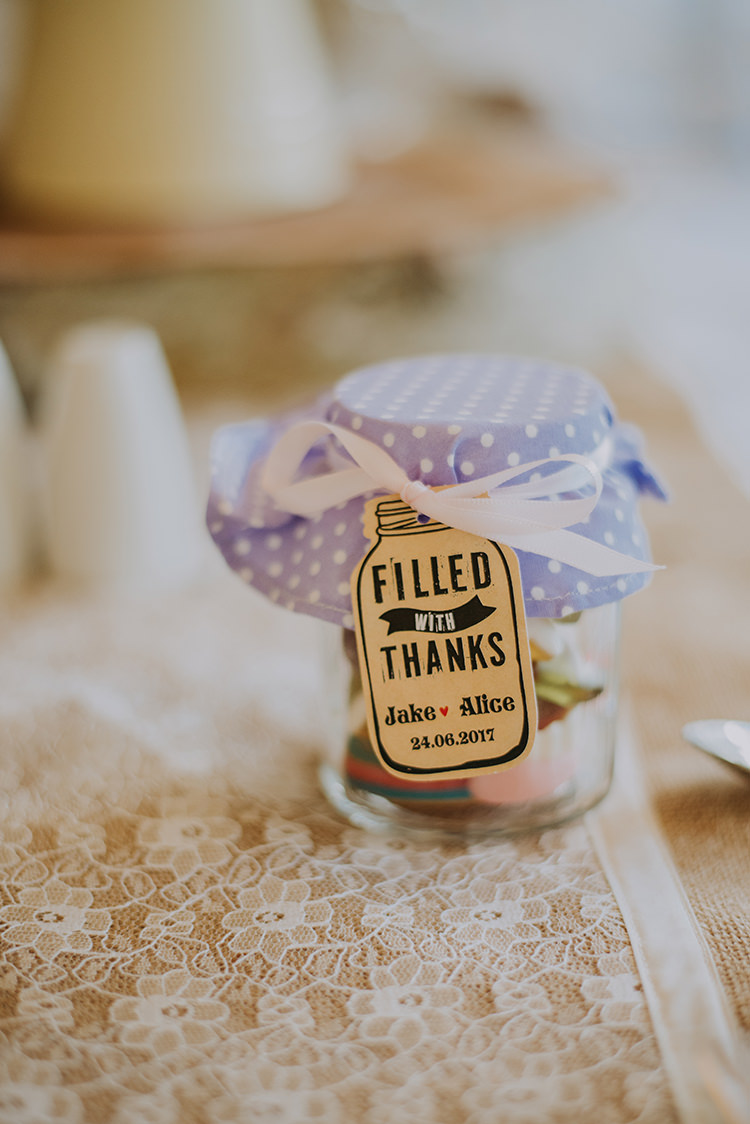 Jam Jar Favours Vintage Retro Inspired Pastel Wedding https://www.georgiarachael.com/