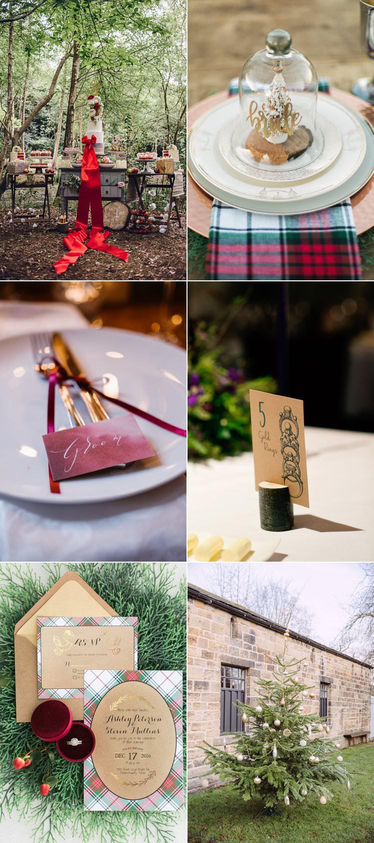 Christmas Wedding Ideas Decor Decoration