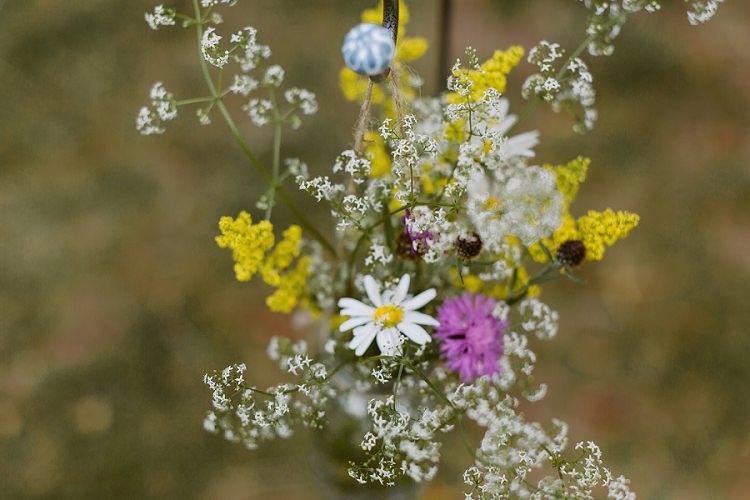 Wildflower Meadow Flower Florals Multicoloured Hand Made Fun Outdoor Wedding https://www.sharrongibson.co.uk/
