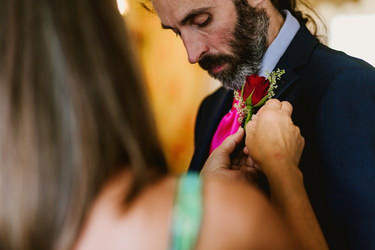 Multicoloured Hand Made Fun Outdoor Wedding https://www.sharrongibson.co.uk/