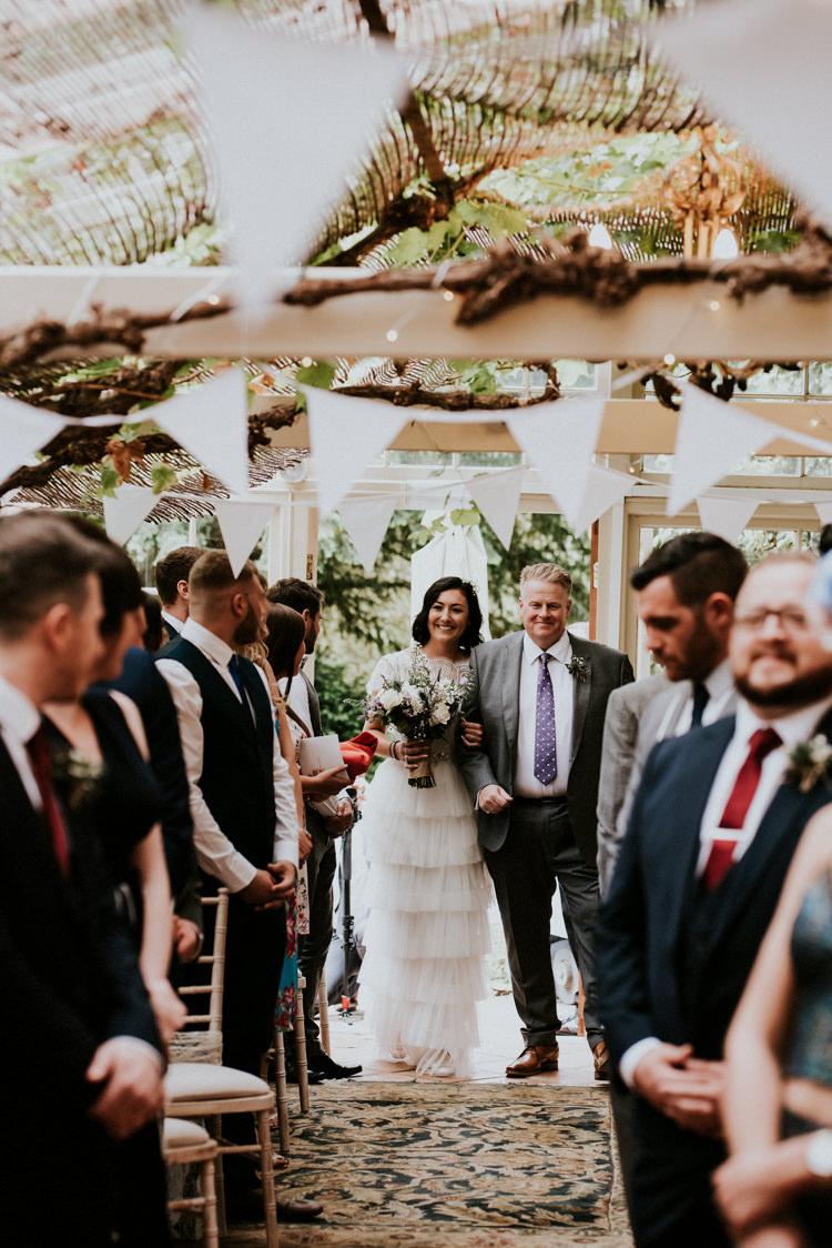 Katya Katya Shehurina Tiered Lace Tulle Dress Cap Sleeves Bride Bridal Unique Personal Natural Wedding Style https://photo.shuttergoclick.com/