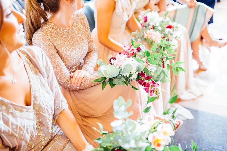 Nude Blue Bridesmaid Dresses Sequins Whimsical Stylish Burgundy Rose Gold Tent Wedding https://www.jakemorley.co.uk/