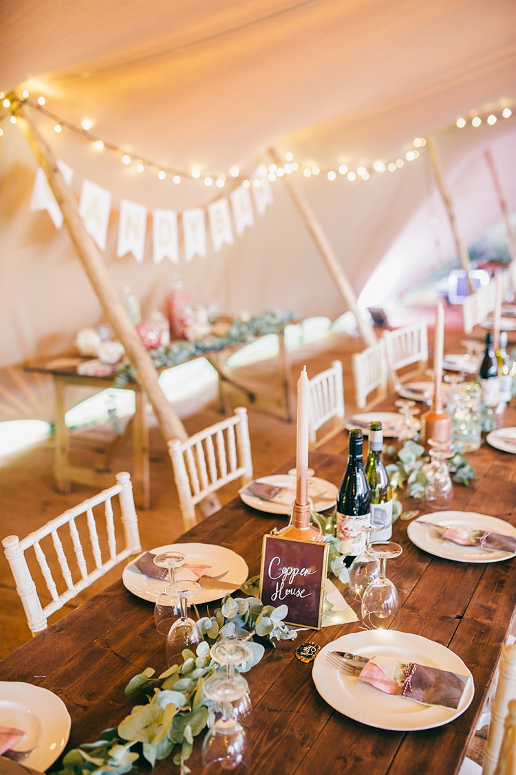 Stretch Tent Fairy Lights Decor Decoration Greenery Whimsical Stylish Burgundy Rose Gold Tent Wedding https://www.jakemorley.co.uk/
