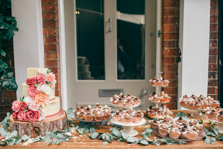 Cake Dessert Table Whimsical Stylish Burgundy Rose Gold Tent Wedding https://www.jakemorley.co.uk/