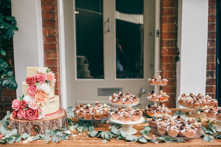 Cake Dessert Table Whimsical Stylish Burgundy Rose Gold Tent Wedding https://www.jakemorley.co.uk/