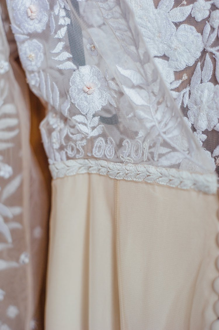 Hermione de Paula Dress Gown Bride Bridal Embroidered Personalised Date Whimsical Stylish Burgundy Rose Gold Tent Wedding https://www.jakemorley.co.uk/