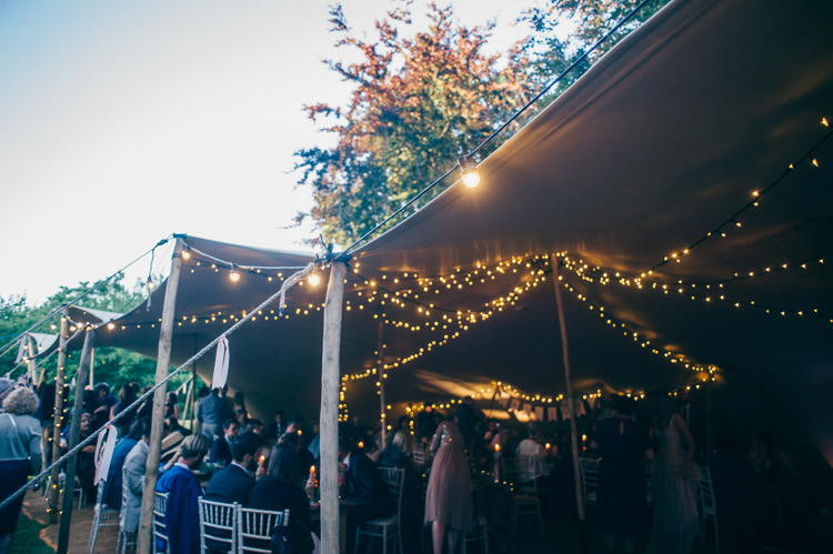 Stretch Tent Marquee Fairy Festoon Lights Whimsical Stylish Burgundy Rose Gold Tent Wedding https://www.jakemorley.co.uk/