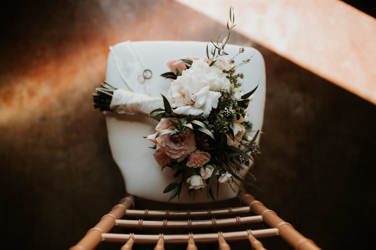 Outdoor Rustic Boho Blush Simple Romantic Bouquet Rings | Organic Earthy Fun Wedding Oklahoma http://zaynewilliams.com/